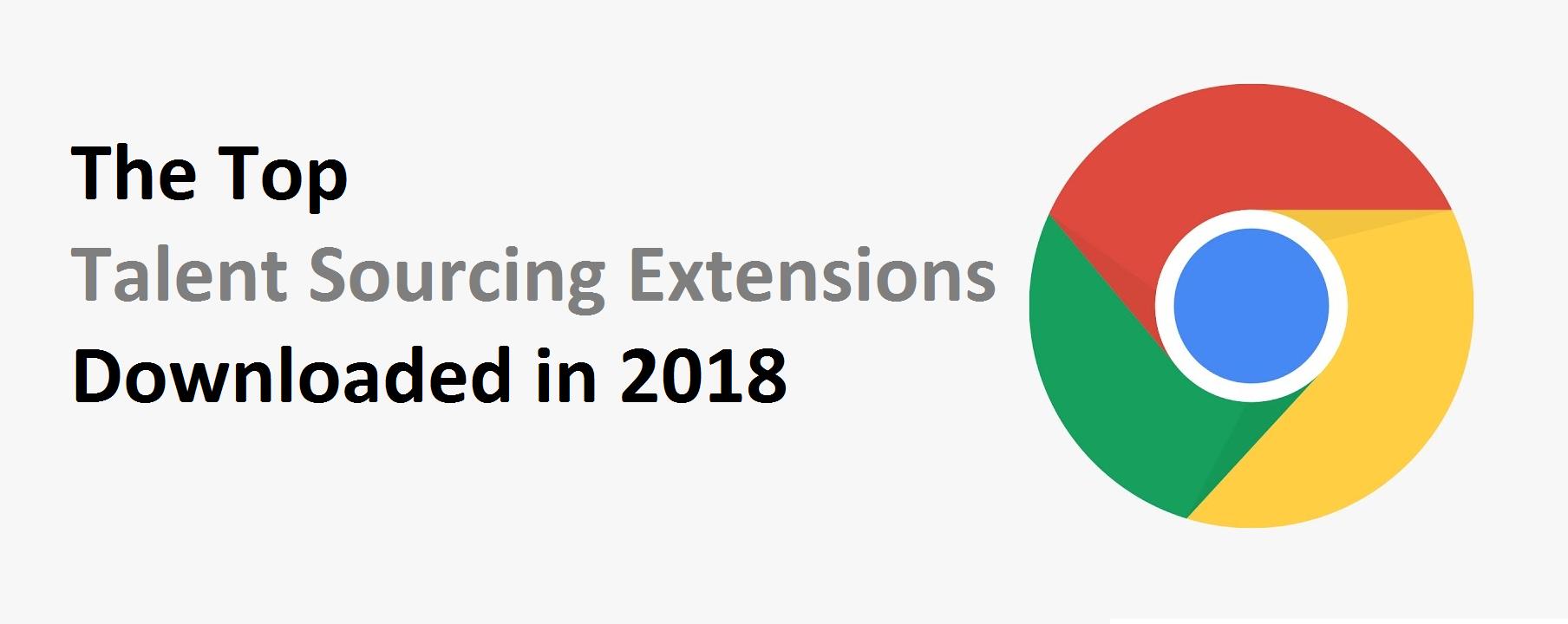 Top Talent Sourcing Extensions in 2018 - WizardSourcer